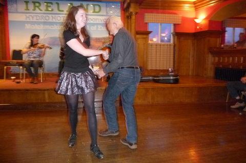Irische Musik und irischer Tanz !