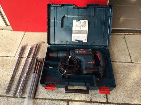 Boschhammer mit Zubehör