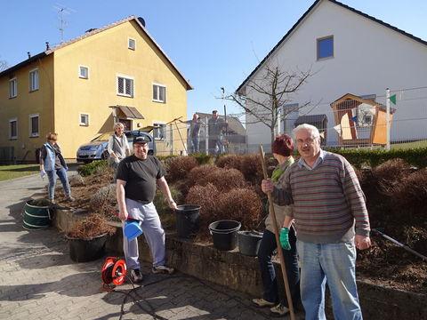Kirchgarten 2015