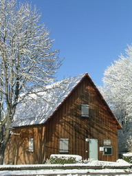 Geschäftsstelle im Winter