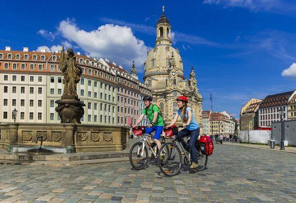 Frauenkirche in Dresden, © Rückenwind Reisen