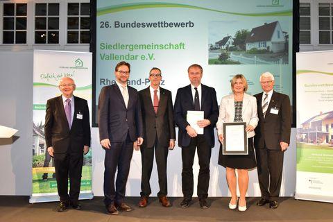 2. Preis für die Siedlergemeinschaft Vallendar e.V.