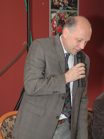 Versammlungsleiter Sfrd. Frank Eiselt