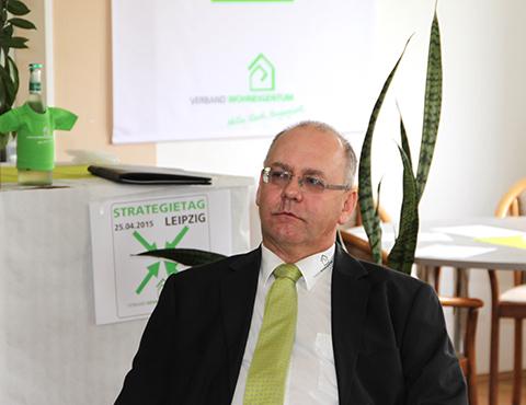 Der Landesverbandsvorsitzende von Baden- Württemberg Sfrd.H.Klatschinsky