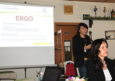 Vortrag der ERGO Versicherung
