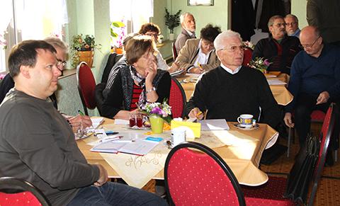Teilnehmer der Versammlung