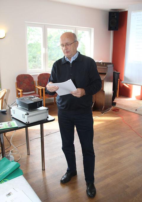 Schatzmeister des LV Sachsen Dr. M. Hartung