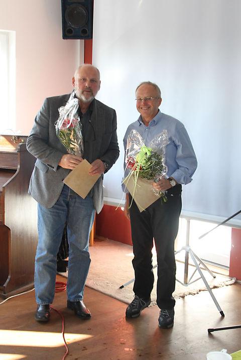 F. Börner und K. Gimmenthal (SG Emil-Teich-Siedlung e.V.)