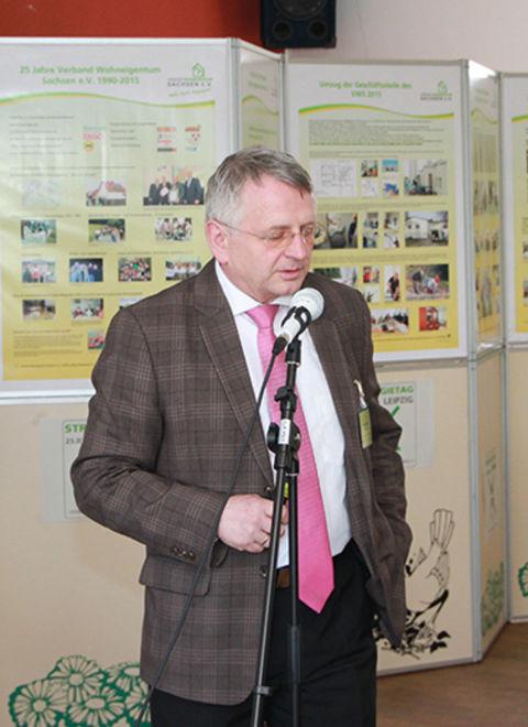 Sfrd. Klaus Kobelt referiert über die Mitgliederwerbung im Landesverband.