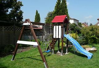 Klettergerüst Holz Streichen : Einen spielturm aufbauen verband wohneigentum e.v.