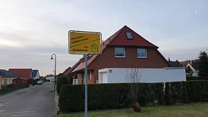 Siedlungseinfahrt
