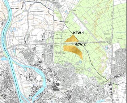 Planungsgebiet Käfertaler Wald