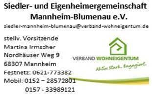 Siedler-und-Eigenheimergemeinschaft-MA-Blumenau_Martina_Irmscher_Visitenkarte