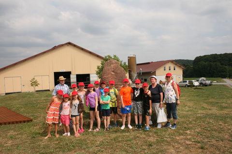 Landwirtschaftlichen Milchbetrieb der Familie Gruppenbacher