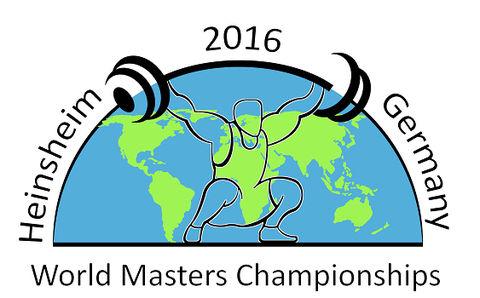 Logo der World Masters Weightlifting Championships Heinsheim 2016