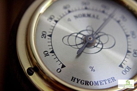 Hygrometer geben Sicherheit