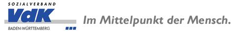 Wichtiger Partner: Logo des Sozialverbands - mit Slogan