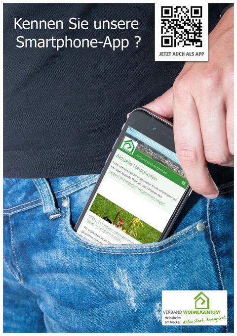 Smartphone-App des Verband Wohneigentum Heinsheim am Neckar