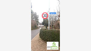 30er Zone in der Gundelsheimer Strasse