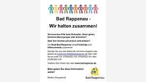 Bad Rappenau - Wir halten zusammen!