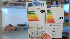 Neues Label für Elektrogeräte