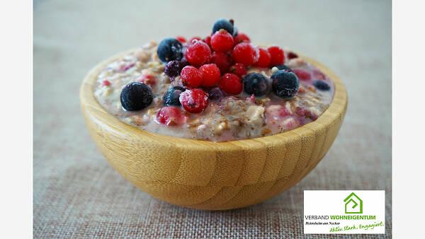 Themenbild: Gesund frühstücken - KERNIGE HAFER-OATS