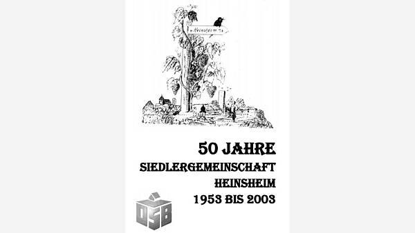 Themenbild: Festschrift 50 Jahre Siedlergemeinschaft Heinsheim