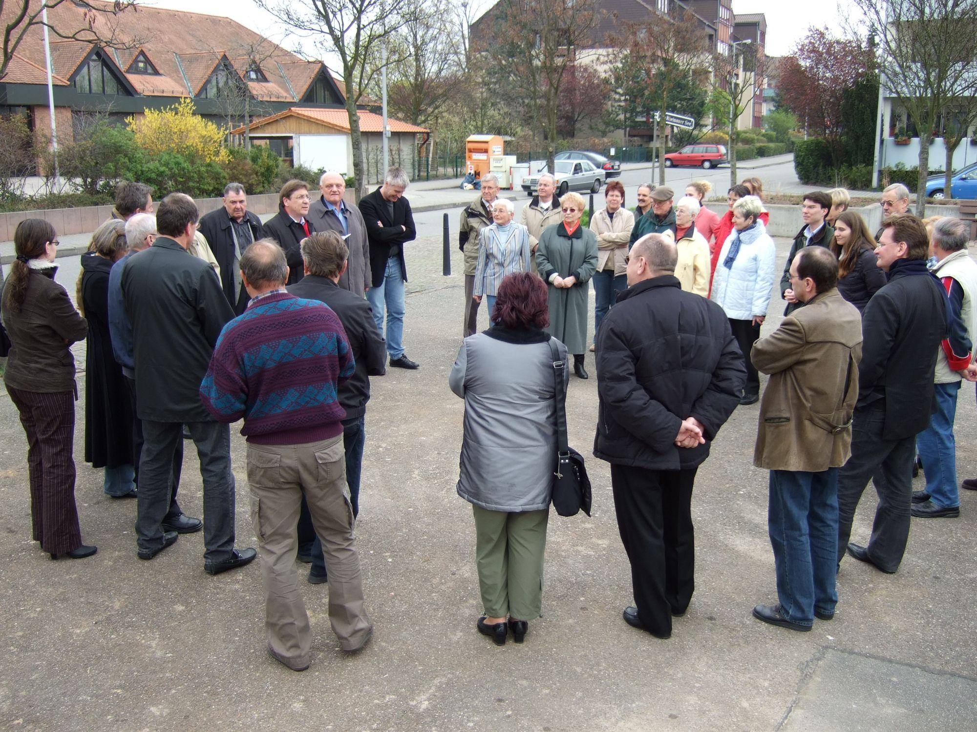Einweihung Marktplatz Rheinau-Süd 310307_3