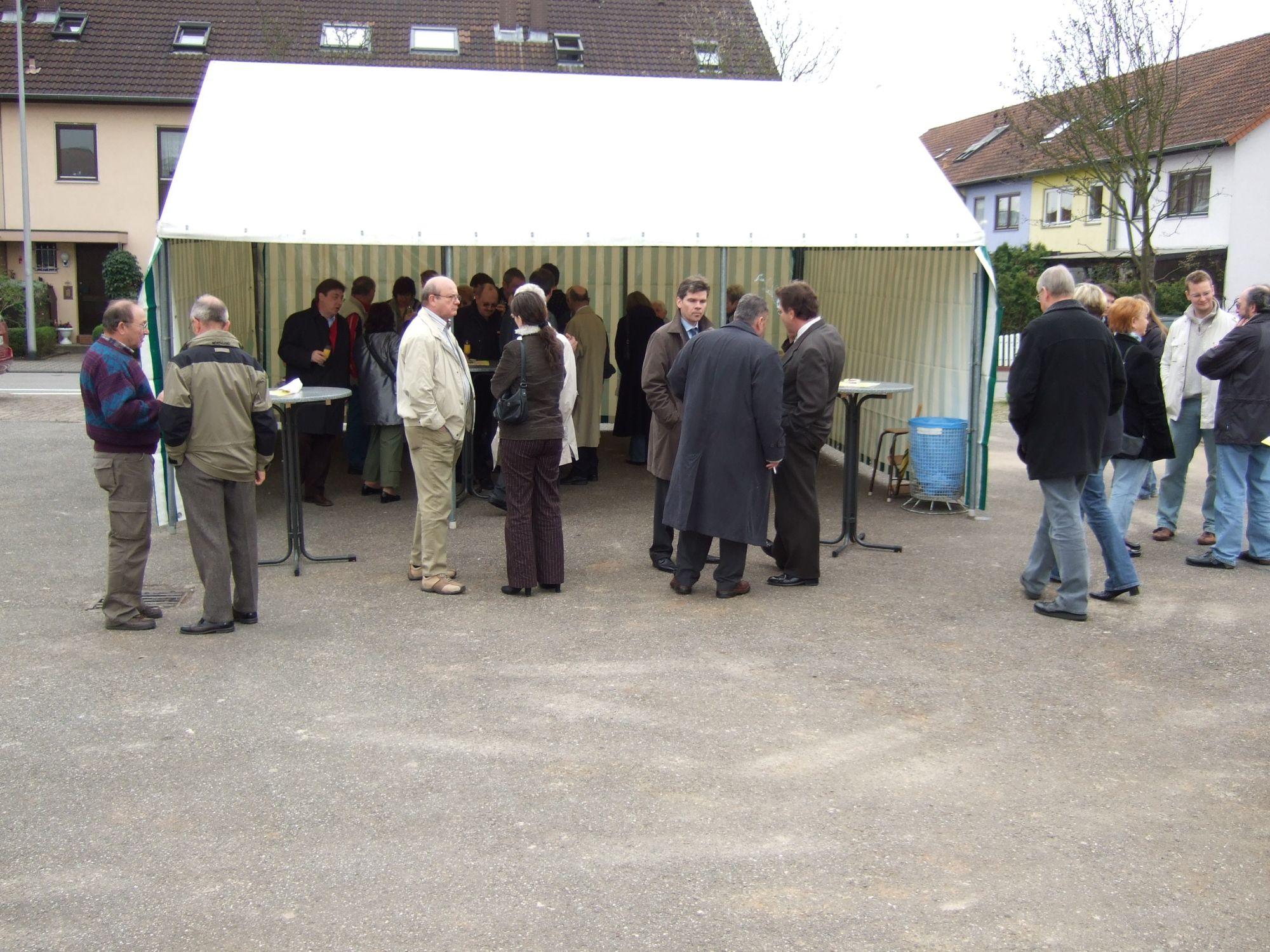 Einweihung Marktplatz Rheinau-Süd 310307_9