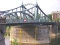 die noch voll funktionsfähige Drehbrücke am Hafen in Krefeld-Linn (gebaut 1905)