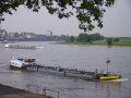 Rheinschleife bei Uerdingen mit dem Bayerwerk im Hintergrund