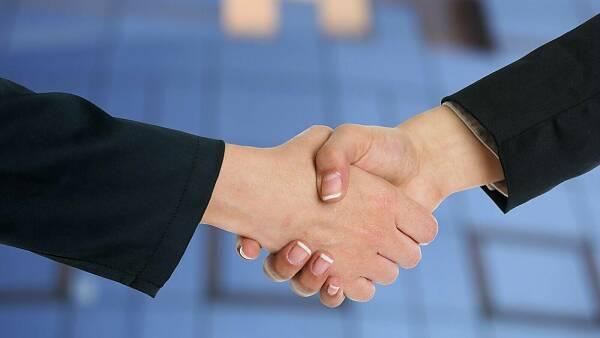 Themenbild: Handschlag