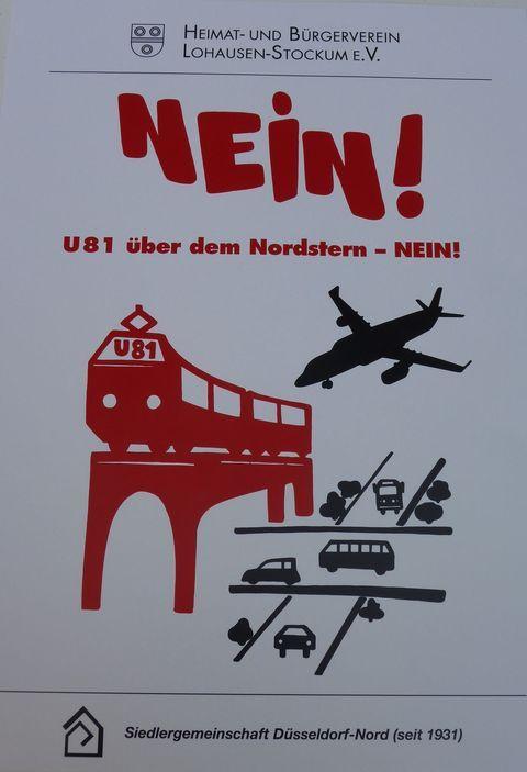 NEIN! zur U81 als Hochbahn