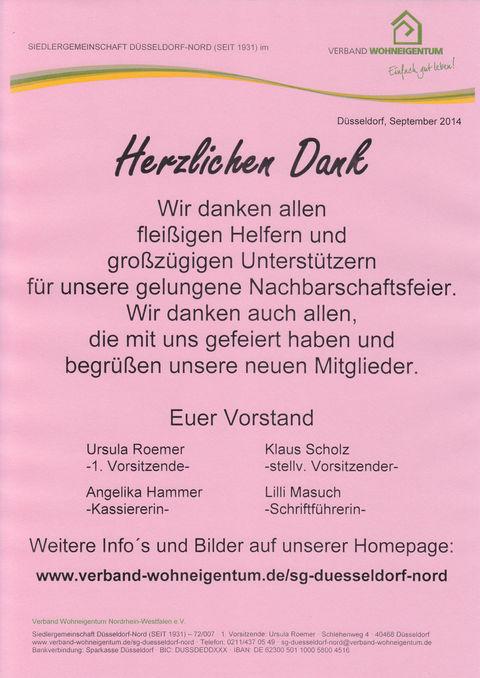 Siedlergemeinschaft Düsseldorf-Nord (seit 1931)