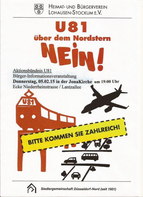 U81 Hochbahn ? Nein !