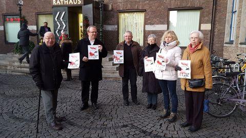 Protest gegen U81-Hochbahntrasse