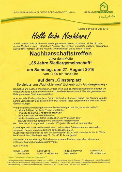 Einladung zum NBT 2016