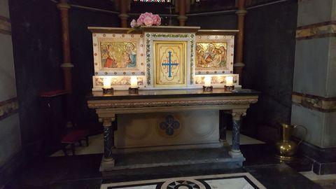 Lantz'sche Kapelle - Altar -