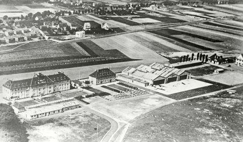 Flughafen-Luftbild 1927