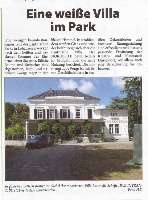 Villa Lantz im Park