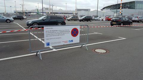 U81 Parkplatzentfall Flughafen DUS