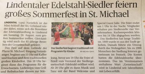 Siedlerfest 2017