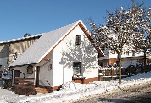 Siedlerheim im Winter
