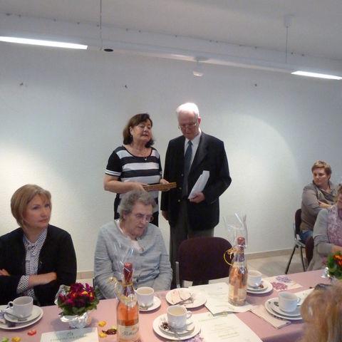 Hela Thomas mit Karl Leißner