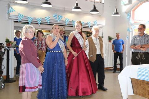 Rosenköniginnen zu Gast