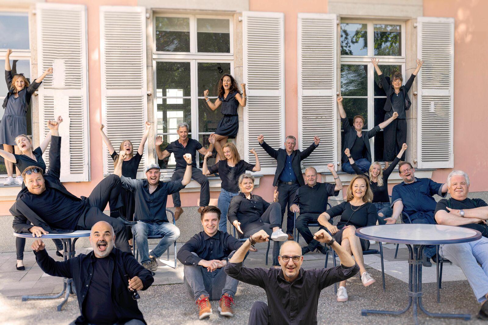 Komödie-Team