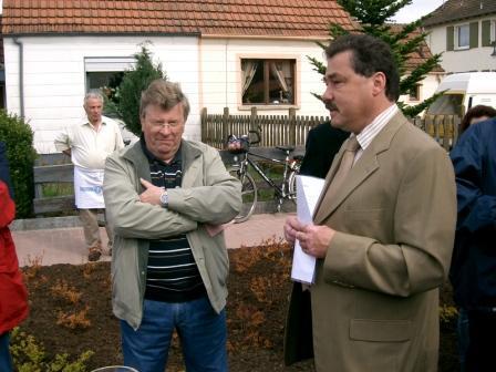 Hans-Peter Schmitt und Armin Hochlenert