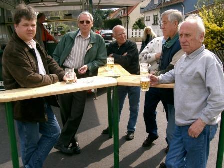 Peter, Alfred, Helmut, Horst und Gerhard