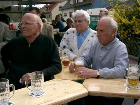 Helmut, Herbert und Gerhard