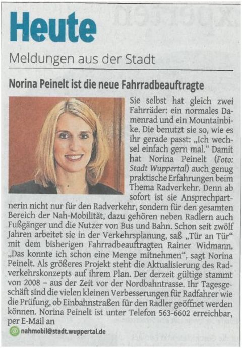 Presse Stadt Wupprtal